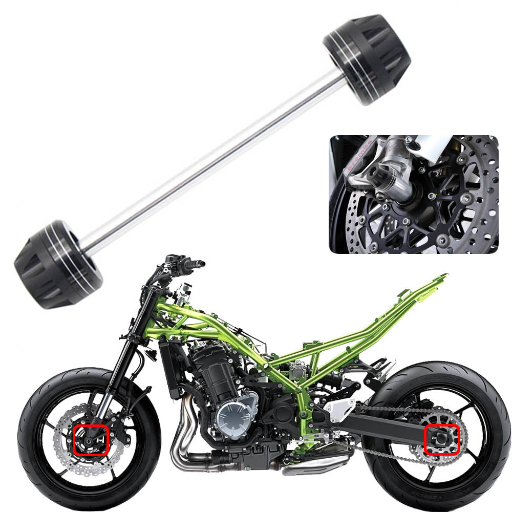 For <font><b>SUZUKI</b></font> <font><b>GSXR</b></font> <font><b>600</b></font>/750 2006-2007 Motorcycle <font><b>Front</b></font> Axle Fork <font><b>Wheel</b></font> Protector Sliders Falling Protection image