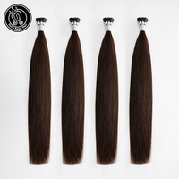 Fairy Remy Hair 0.8g/s 1618 20 Keratin I Tip Hair Extenisons 100% Real Brazilian Virgin Remy Pre Bonded Human Hair Extension