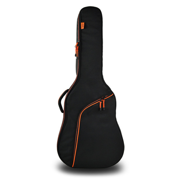 HOT-Thicken Steel-String Classical Guitar Bag Case Backpack Guitarra Bass Accessories Parts Carry Black + Orange 36 inch