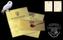 Halloween party gift the letter of admission at hogwarts for adult and children Surprise birthday Present