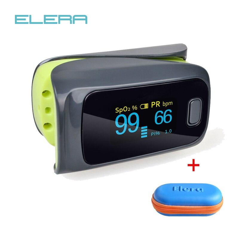 ELERA 10 pz/lotto di Impulso della Barretta Ossimetro monitor, Oximetro de dedo ossimetro Spo2 saturazione di Ossigeno nel Sangue Del Corpo monitor ossimetro