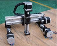 Линейный модуль промышленный манипулятор 100 мм ход линейной направляющей NC трехосевой Xz оси Электрический винт слайдер