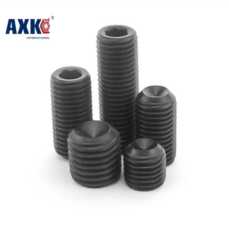 все цены на  Free Shipping 50pcs/Lot M6x20 mm M6*20 mm Alloy steel Hex Socket Head Cap Screw Bolts set screws with cup point M6x20  онлайн