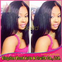 Human Hair Unprocessed Full Lace Wigs Natural Color Virgin Brazilian Straight Lace Front Wig Free Shipping