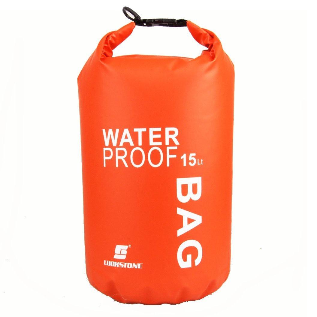 Waterproof Bag Pouch for Camping Kayak Fishing Rafting Canoe-kayak 15L
