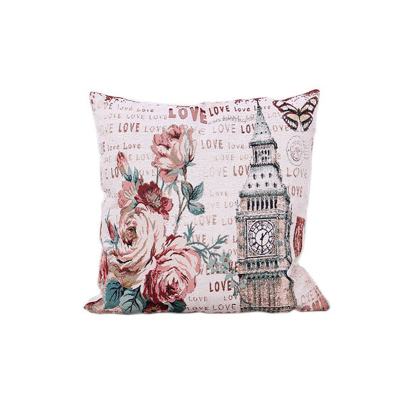 Cushion cover printed luxury throw pillows home decor for Luxury decorative throw pillows