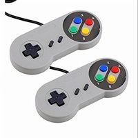 DHL 20pcs/lot Classic Wired USB 2.0 Game Controller for PC Laptop Computer Windows Joystick for SNES Gamepad