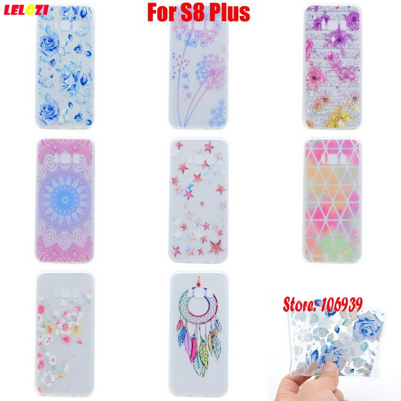 LELOZI Deluxe Soft Transparent TPU Clear Silicone Silicon Fundas Coque Case Cover Carcasa For Samsung Galaxy S8 Plus S8Plus