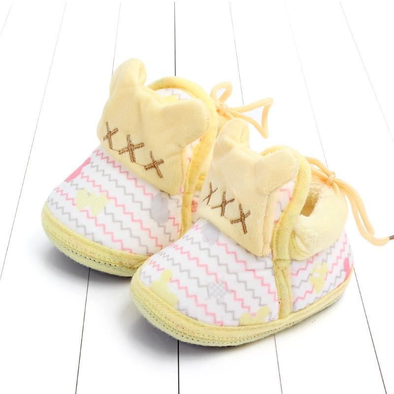 Indoor First Walkers Baby Shoes Cotton Anti-slip Booties Winter Wammer Baby Girl Boy Shoes Newborn Slippers Footwear Booties (39)