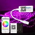 Mini LED RGBW Bluetooth 4.0 Controlador de LED Para LED Luz de Tira DC 12-24 V Telefone App Controle Dimmer Regulável