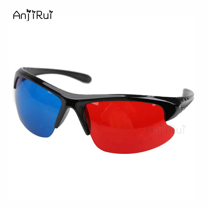 3D Glasses <font><b>Red</b></font> <font><b>Blue</b></font> Plasma TV <font><b>Movie</b></font> <font><b>Dimensional</b></font> <font><b>Anaglyph</b></font> <font><b>Half-frame</b></font> 3D Vision Glasses <font><b>Movie</b></font> Game <font><b>DVD</b></font> Video TV Free Shipping
