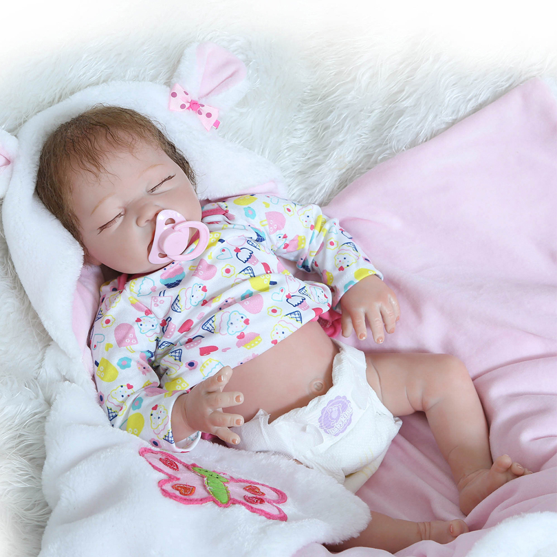 Silicone Reborn Babies Doll Gifts For The New Year Newborn Baby Alive Doll Reborn Kids Brinquedos Baby Born Christmas Gift new year merry christmas gift 18 american girl doll with clothes doll reborn silicone reborn baby doll our generation doll