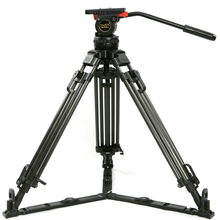 "Teris TRIX 65 ""V12T Trípode De Fibra De Carbono profesional cámara de vídeo trípode con carga de cabeza fluida 12KG para TILTA Rig Red Scarlet Epic"