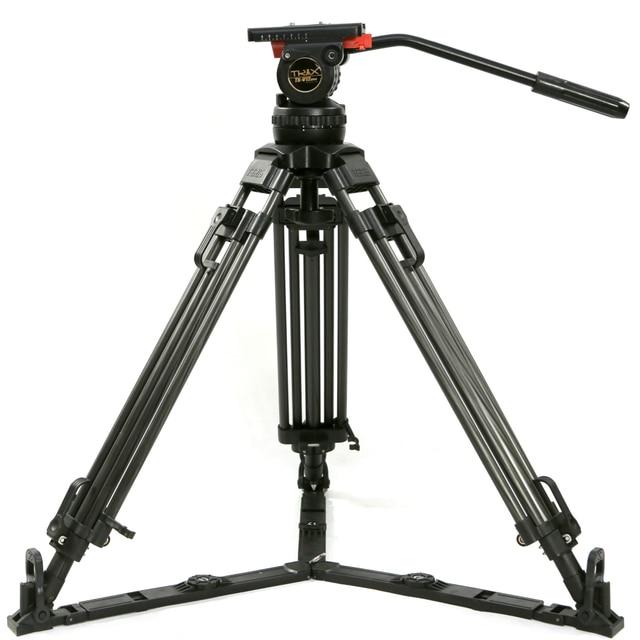 "Tetris TRIX 65 ""V12T profesyonel karbon Fiber Tripod Video kamera tripodu w/sıvı kafa yükü 12KG TILTA kulesi kırmızı Scarlet Epic"