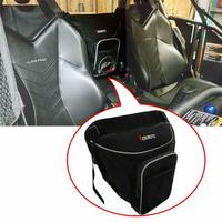 KEMiMOTO UTV Storage Bag Cab Pack Holder Storage Bag Seat centre bag For Can Am Commander Maverick 800 1000