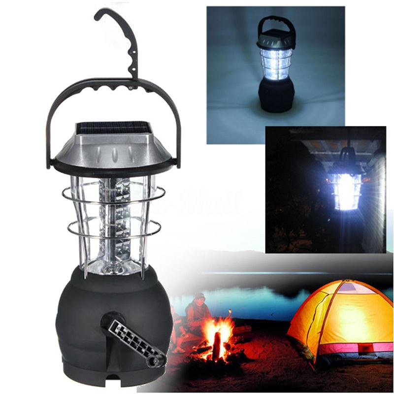 Forfar NEW Super Bright 36LED solar camping light, rechargeable emergency light, Camping Lantern Tent Lamp Useful Outdoor Tools