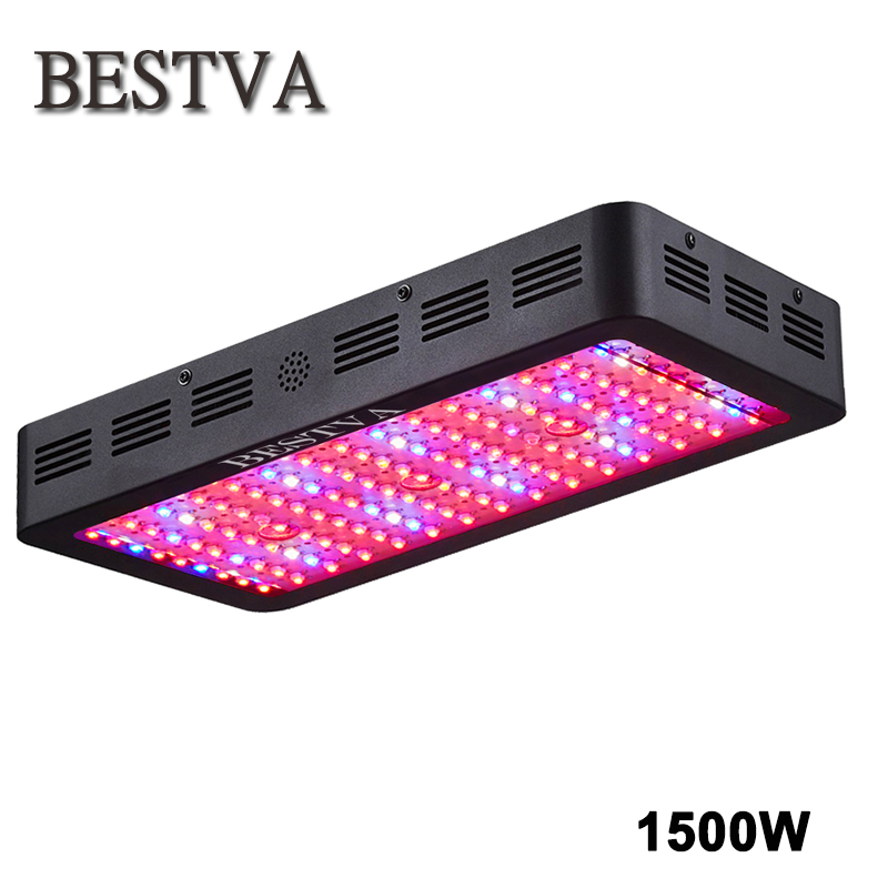 BESTVA 1500W led grow light full spectrum for plants indoor growth led growth light greenhouse grow tent hydroponic systems led spider farmer dimmable led 300w grow light full spectrum hydroponic systems for seeds indoor plants in agricultur greenhouse