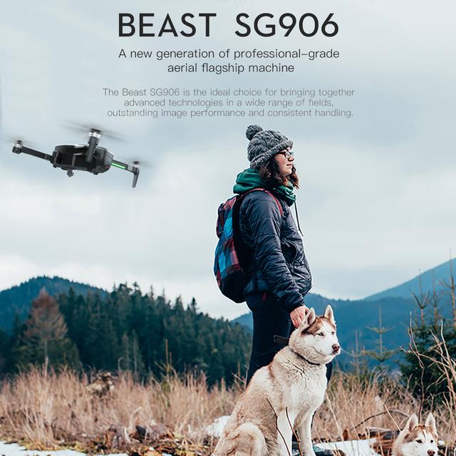 LAUMOX SG906 Drone GPS 5G WIFI FPV With 4K HD Camera Brushless Selfie Foldable Drones RC Quadcopter RTF VS H117s B4W ZEN K1 F11