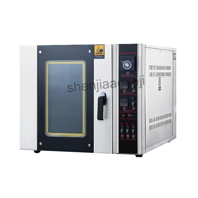 Commercial electric oven Hot air circulation oven bakery bread machine baking oven bread cake West Point equipment 380V 6500w цена 2017