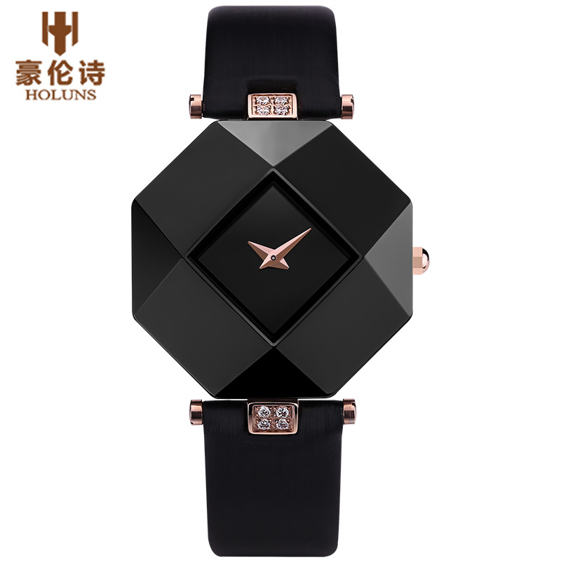 Luxury Women Watch 2016 HOLUNS Female Quartz Watch Relogio Feminino 50M Waterproof Wristwatch Xmas Birthday Gifts от Aliexpress INT