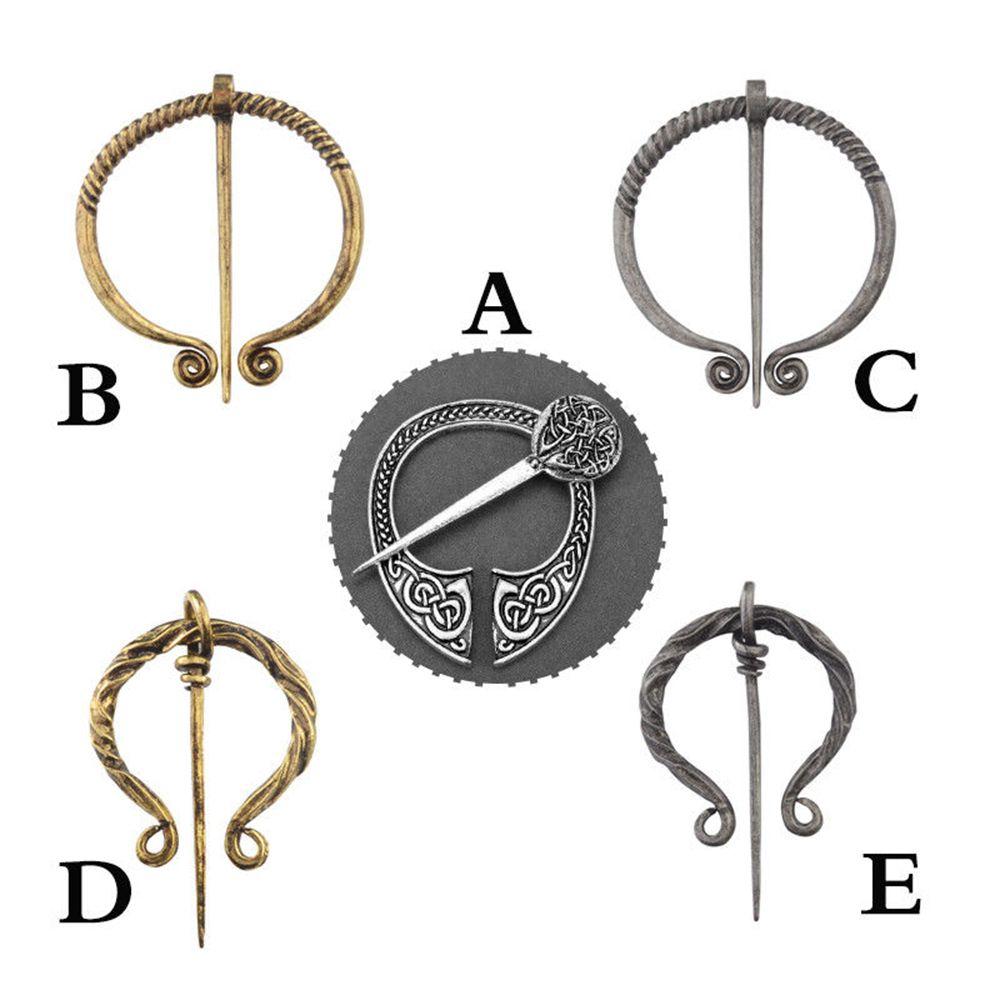 Middeleeuwse Hollow Pin Viking Broche Gesp Schort Mantel 1 Pc Mode-sieraden Goederen Van Hoge Kwaliteit