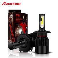 Autofeel 72w Set 16000LM Led Car Light H4 H1 H7 H11 H13 H16 9004 9005 9006
