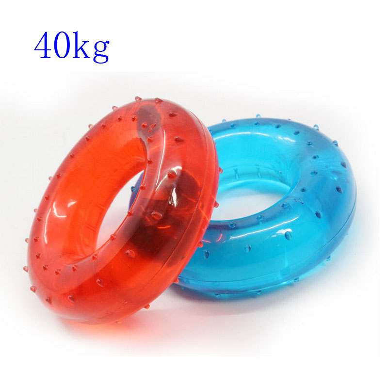 40KG Hand Grip Rubber Strength Training Muscle Fitness Exerciser Ring Power Expander Gripper Hand Grips