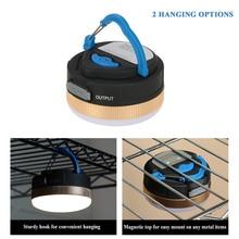 Waterproof Magnetic Lamp 300LM LED Camping Tent Lamp