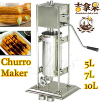 10L 304 stainless steel Churro machine +churros filler Spainish Good tasted snack food machine