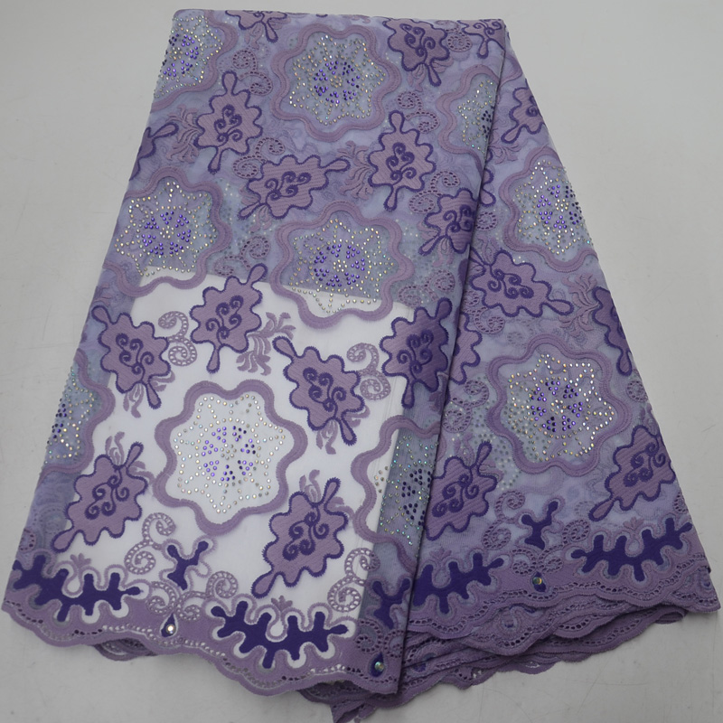 (5yards/pc) beautiful embroidered Africa tulle lace lilac purple French net lace fabric with stones for party dress  FLP104(5yards/pc) beautiful embroidered Africa tulle lace lilac purple French net lace fabric with stones for party dress  FLP104