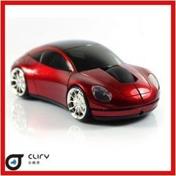 Top Selling  Car Shaped 2.4G Wireless car  mouse 10M working distance + free shipping 10pcs/lot factory sales