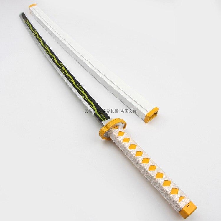 Горячая аниме Demon Slayer: Kimetsu No Yaiba косплей реквизит агатсума меч оружие реквизит для комических вечерние Хэллоуин косплей шоу