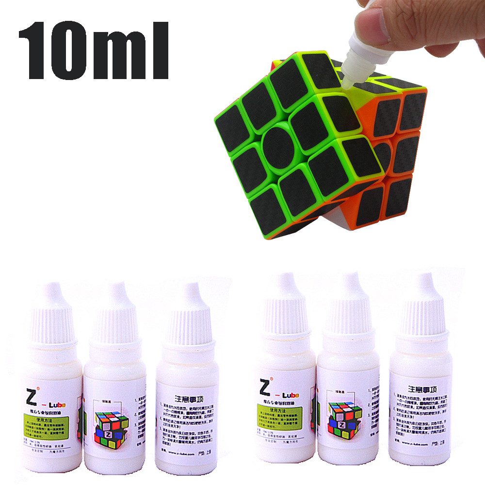 Fidge Cube Oil  1PCS 10ml best silicone Smooth Lubricating Speed  Accessories For Match Game oil Make cube rotate more easily 27-in Magic Cubes from Toys & Hobbies on AliExpress