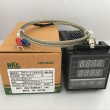 Двойной цифровой RKC PID контроллер температуры REX-C100 с K термопары, релейный выход/SSR выход