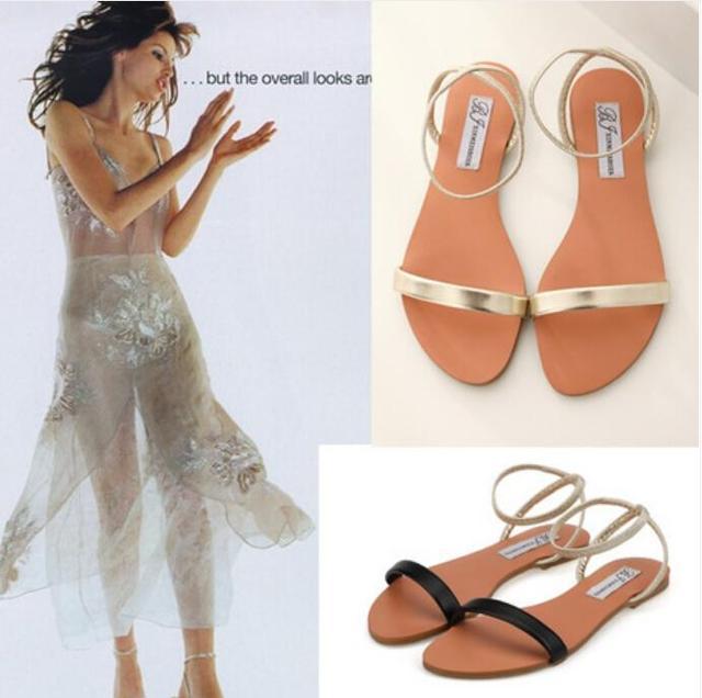 Mulheres Sandálias Gladiador Verão 2016 Peep Toe Flats Moda Casual Shoes Mulher Sapatos de Praia Senhoras Flops Zapatos Mujer Verano