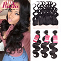 Lace Frontal Closure With Bundles Malaysian Virgin Hair With Closure Malaysian Body Wave With Frontal Closure Human Hair Bundles