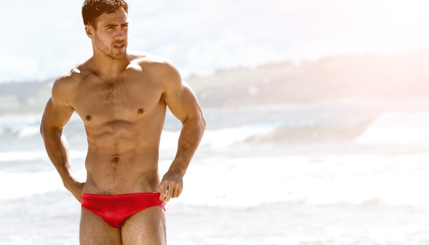 Topdudes.com - Hot Men's Simple and Sexy Swimwear