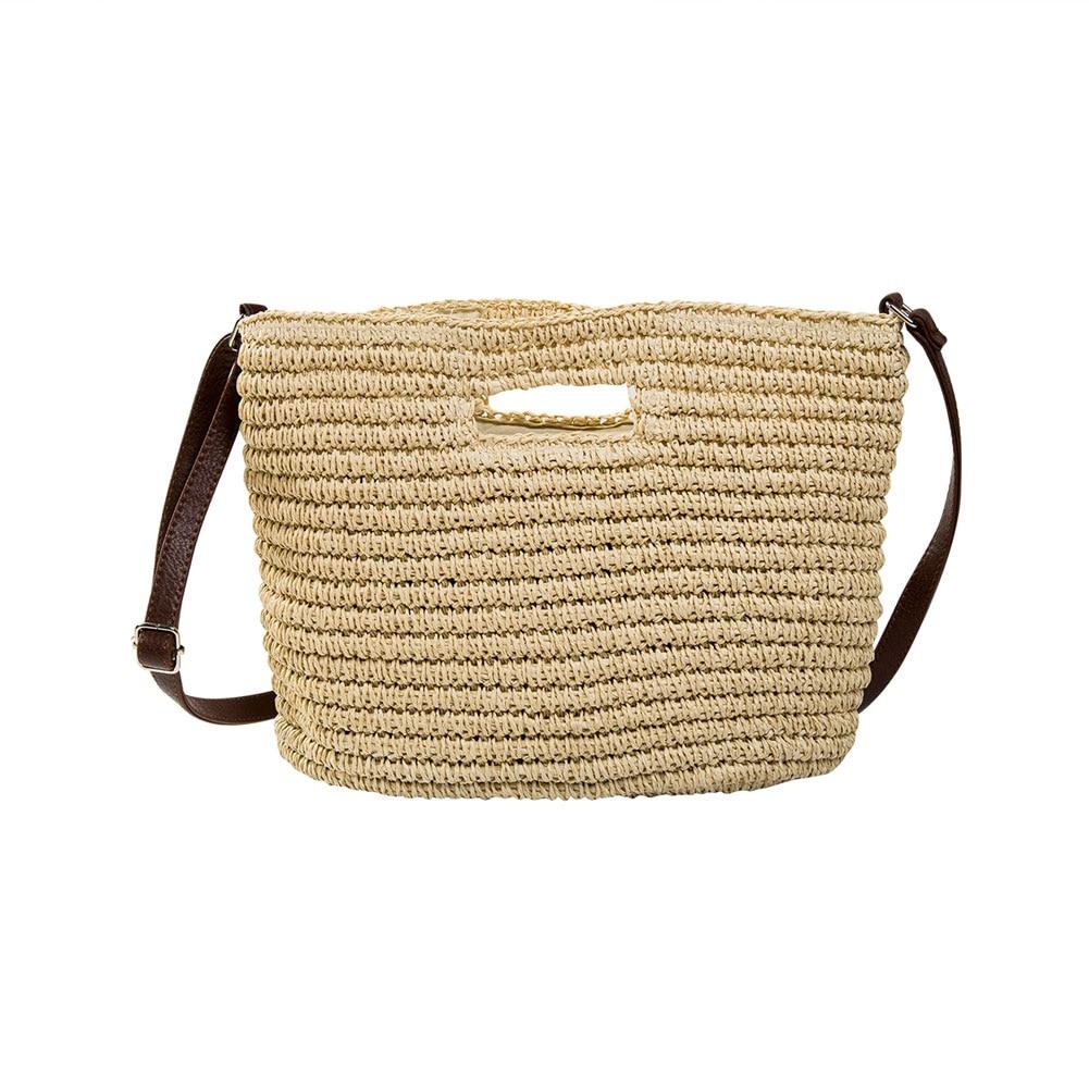 Audace 2019 Nuovo 3 Colori Crochet Del Knit Della Borsa Di Crossbody Del Sacchetto Di Spalla Tessuto Della Borsa Degli Stati Uniti