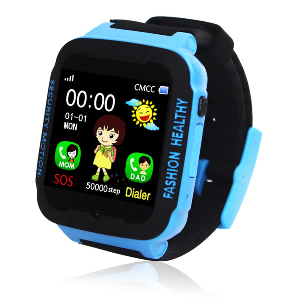 Tracker Smartwatch Waterproof Kids Child Safe Phone IP67 Location-Device Anti-Lost-Monitor