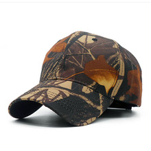 Spring Summer Polyester Men Camouflage Cap Breathless Unisex Tactical Cap Adjustable Camouflage Hat TREE Camo Casquette Bone