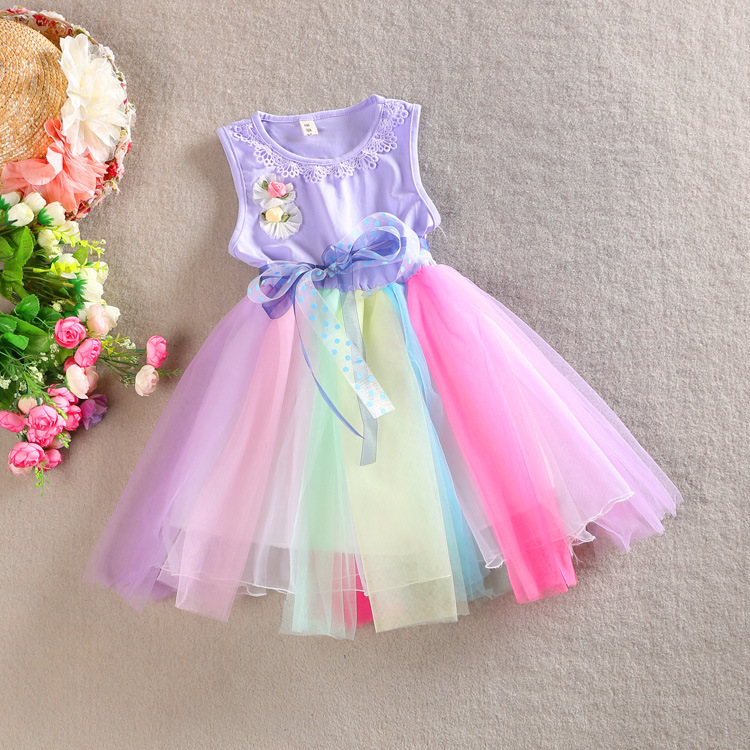 Increíble Vestido De Fiesta De Arco Iris Galería - Ideas de Vestido ...