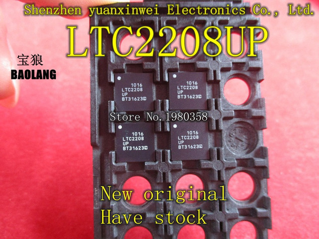LTC2208CUP LTC2208UP LTC2208  QFN new and original , quality assurance, welcome to buy.