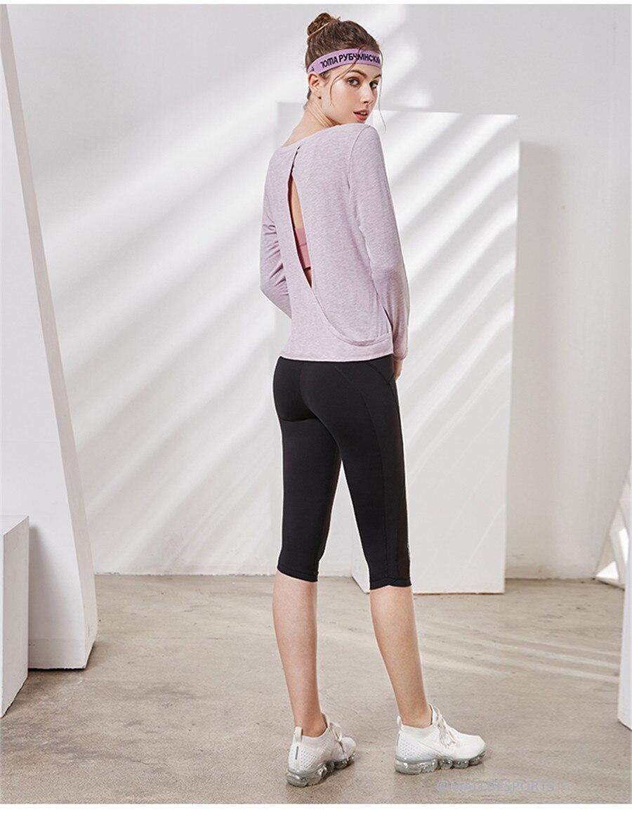 Cima Correndo Justas Reflective Leggings de Fitness