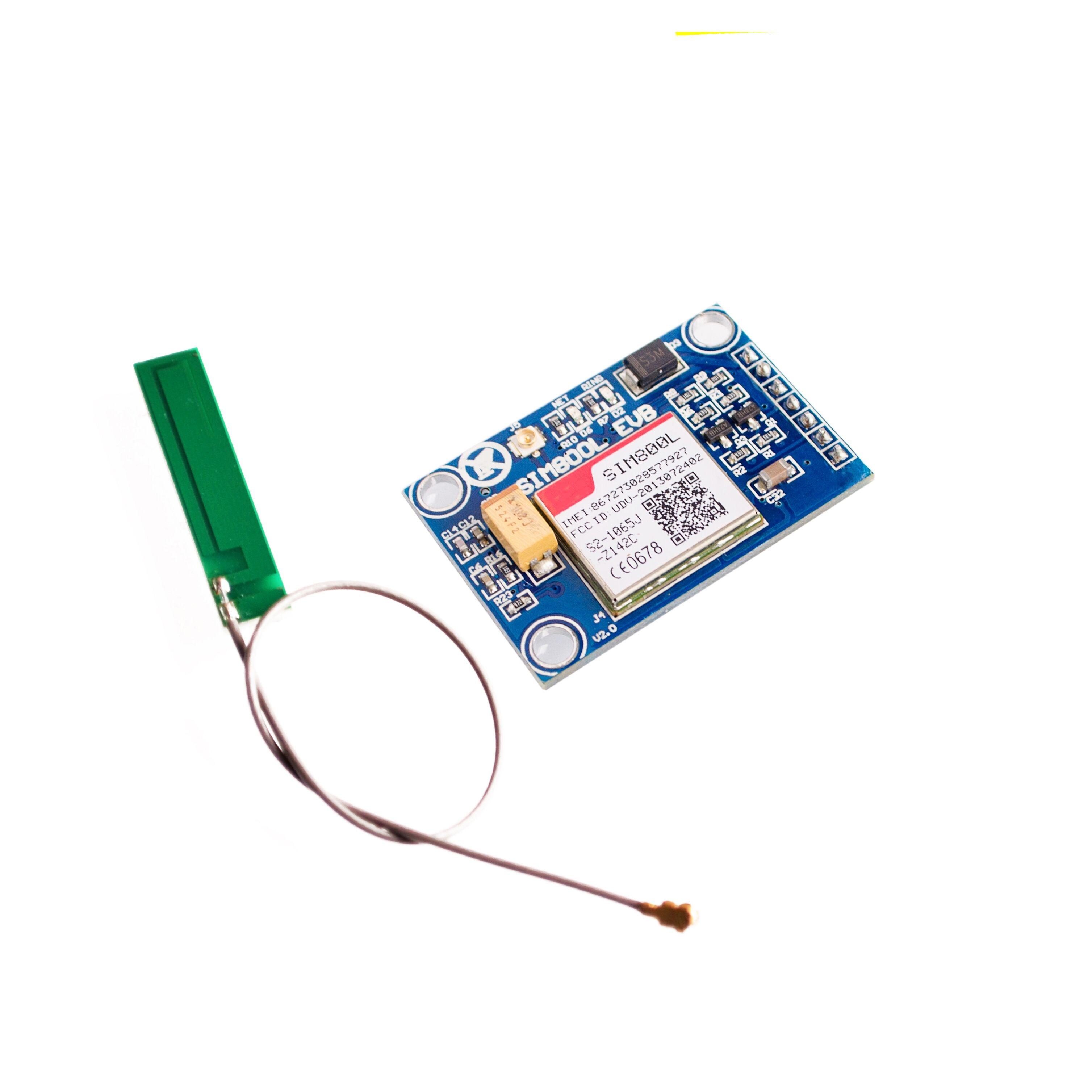New SIM800L GPRS GSM Module w/ PCB Antenna SIM Board Quad band for MCU for