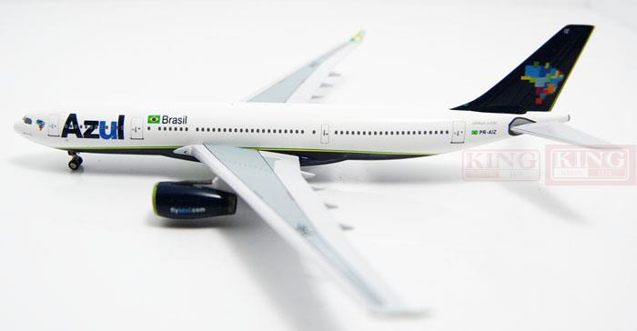 Azul A330-200 PR-AIZ 1:400 Aeroclassics commercial jetliners plane model hobby