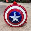2016 Marca Mochila Bolsa de La Escuela Los Niños Mochila de Lona de La Vendimia Redondez Capitán América Gils Niños Mochila Mochilas Femininas