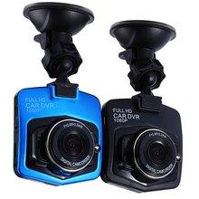1080 P мини-автомобиль Камера DVR детектор GT300 2 дюймов 12 В парковка Регистраторы видео регистратор видеокамера Ночное видение