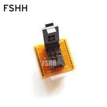 QFN16 в DIP16 адаптер WSON16 MLF16 DFN16 IC размер тестового гнезда=3x3 мм, шаг=0,5 мм