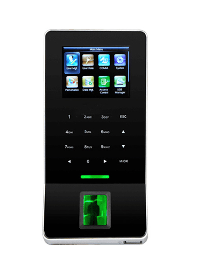 Fingerprint Time Attendance And Access Control With ID Card Reader ZK F22 With WIFI Door Access Control
