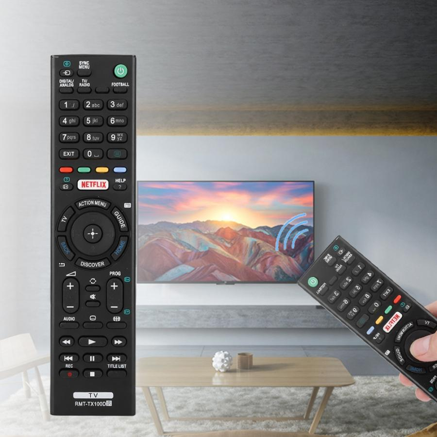 Replacement Remote-Control-Controller Sony Tv Smart-Tv RMT-TX100D High-Quality For Rmt-tx100d/Rmt-tx101j/Rmt-tx102u/..